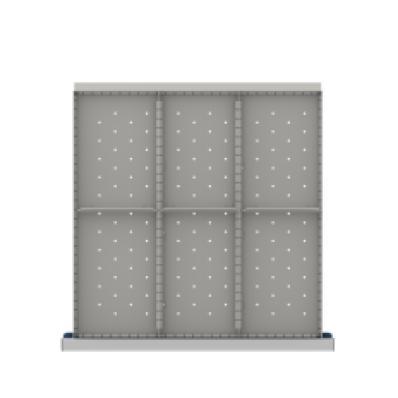 LISTA CLDR206-250 - www.AmericanWorkspace.com/171-cl-9-inch-drawer-kits