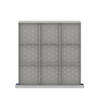 LISTA CLDR209-250 - www.AmericanWorkspace.com/171-cl-9-inch-drawer-kits