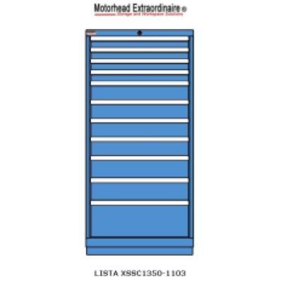 LISTA XSSC1350-1103 - www.AmericanWorkspace.com/130-eye-height-cabinets