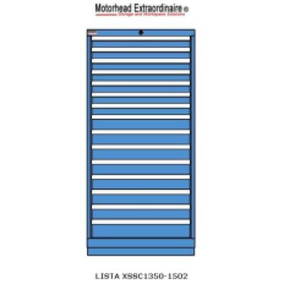 LISTA XSSC1350-1502 - www.AmericanWorkspace.com/130-eye-height-cabinets