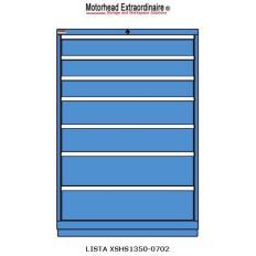 LISTA XSHS1350-0702 - www.AmericanWorkspace.com/130-eye-height-cabinets