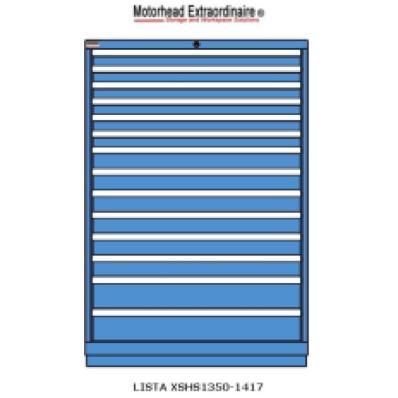 LISTA XSHS1350-1417 - www.AmericanWorkspace.com/130-eye-height-cabinets