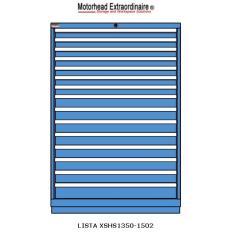 LISTA XSHS1350-1502 - www.AmericanWorkspace.com/130-eye-height-cabinets