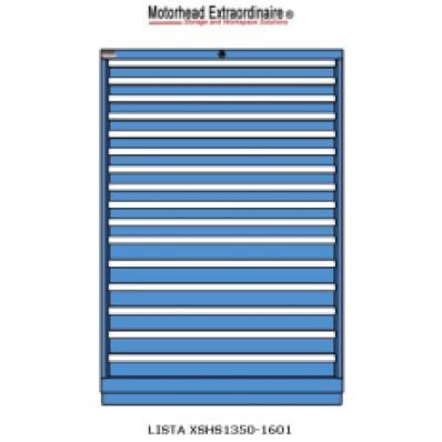 LISTA XSHS1350-1601 - www.AmericanWorkspace.com/130-eye-height-cabinets