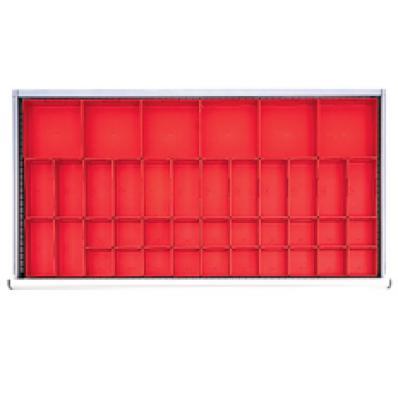 LISTA HDR040 - www.AmericanWorkspace.com/181-hs-2-inch-drawer-kits