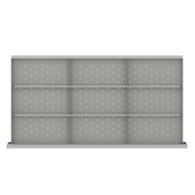 LISTA HDR-LR209-75 - www.AmericanWorkspace.com/181-hs-2-inch-drawer-kits
