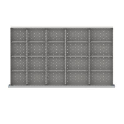 LISTA MWDR420-100 - www.AmericanWorkspace.com/194-mw-3-inch-drawer-kits