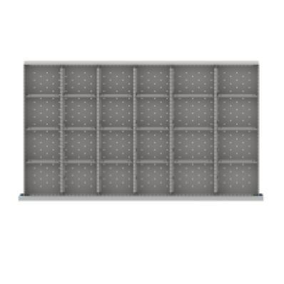 LISTA MWDR524-100 - www.AmericanWorkspace.com/194-mw-3-inch-drawer-kits