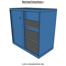 LISTA XSHSSD0900--RG - www.AmericanWorkspace.com/71-shelf-cabinets