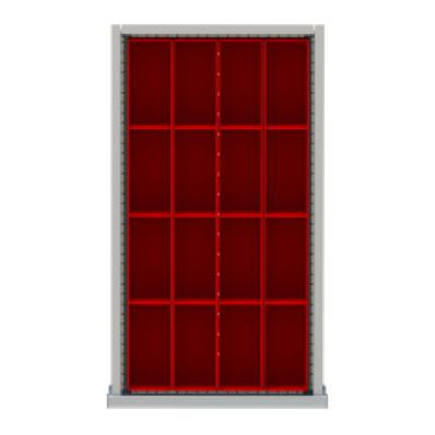 LISTA NWDR016-100 - www.AmericanWorkspace.com/200-nw-3-inch-drawer-kits
