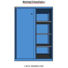 LISTA XSHSSD1350--RG - www.AmericanWorkspace.com/71-shelf-cabinets