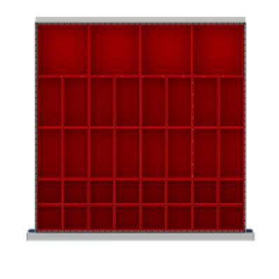 LISTA DR036-75 - www.AmericanWorkspace.com/205-sc-2-inch-drawer-kits