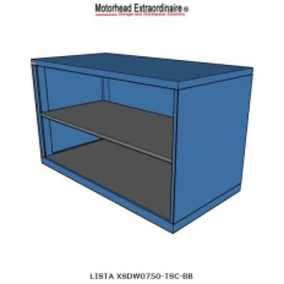 LISTA XSDW0750-TSC - www.AmericanWorkspace.com/71-shelf-cabinets