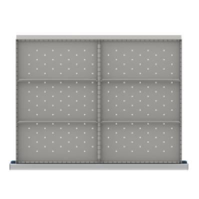 LISTA SDR106-150 - www.AmericanWorkspace.com/213-st-5-inch-drawer-kits