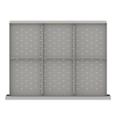 LISTA SDR206-150 - www.AmericanWorkspace.com/213-st-5-inch-drawer-kits