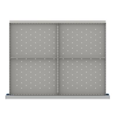 LISTA SDR104-250 - www.AmericanWorkspace.com/215-st-9-inch-drawer-kits