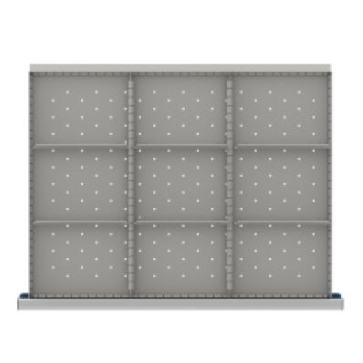 LISTA SDR209-250 - www.AmericanWorkspace.com/215-st-9-inch-drawer-kits