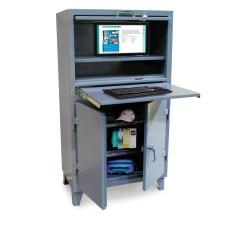 ST-35-203-1SOS-LDD - Image-1 - 36x20x60 Deluxe Computer Cabinet