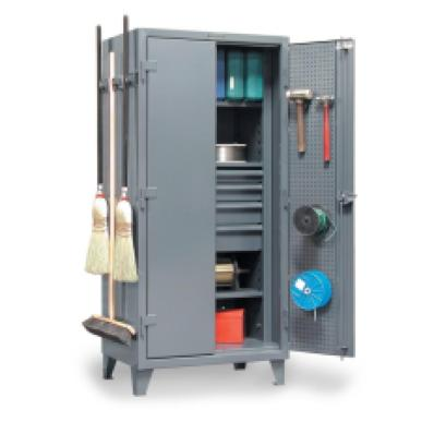STRONGHOLD 36-PB-243-4DB-BH - www.AmericanWorkspace.com/56-metal-bin-cabinets