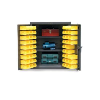 STRONGHOLD 33.5-BS-202 - www.AmericanWorkspace.com/52-plastic-bin-cabinets