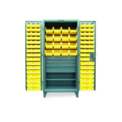 STRONGHOLD 46-BBS-241-4DB - www.AmericanWorkspace.com/52-plastic-bin-cabinets