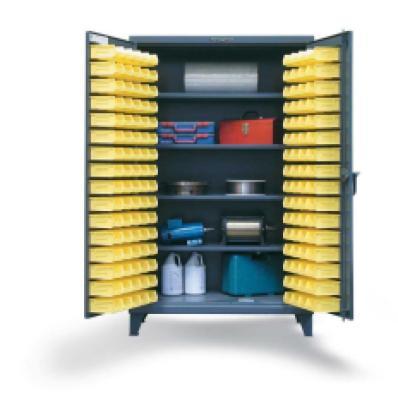 STRONGHOLD 46-BS-244 - www.AmericanWorkspace.com/52-plastic-bin-cabinets