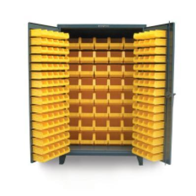 STRONGHOLD 46-BB-240 - www.AmericanWorkspace.com/52-plastic-bin-cabinets