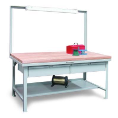 STRONGHOLD T7236-FL-2DB-MT - www.AmericanWorkspace.com/60-shop-tables