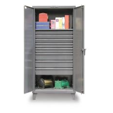 36x24x72 Cabinet with 8 Drawers,Shelves,and Doors