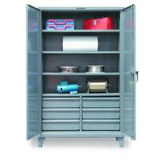 48x24x72 Cabinet with 6 Half-Width Drawers