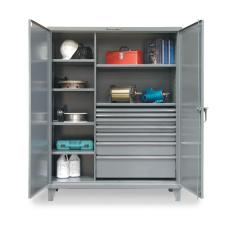 60x24x72 with 7 Drawers,7 Shelves,and Doors