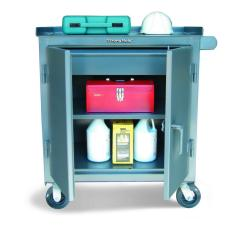 48x24x36 Tool Cart with Wide Drawer,Locking Doors