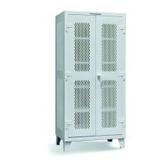 48x24x60 Fully Ventilated Floor Cabinet,4 Shelves