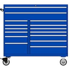 DW1050 15 Drawer Double Bank Toolbox