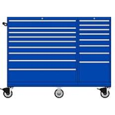 MWMP1050 17 Drawer Two-Bay Toolbox