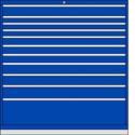 DW1350 11 Drawer Single Bank Toolbox