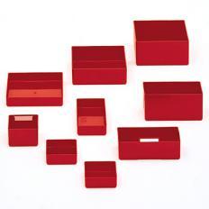 3x3x1 Plastic Parts Box Divided