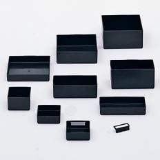 3x3x1 Plastic Parts Box Divided,Anti Static