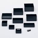 3x6x1 Plastic Parts Box,Anti Static