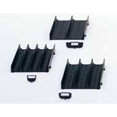 """Grooved Slotted Tray,2 x 2-3/4"""" Anti-Static"""