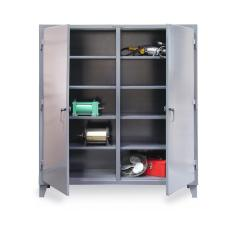 48x24x72 Double Shift Cabinet,with Shelves
