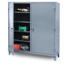 60x24x72 Double Shift Cabinet with Shelves