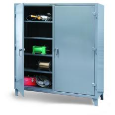 72x24x72 Double Shift Cabinet with Shelves
