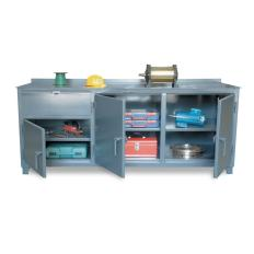 84x30x31 Counter Height,Multi-Storage Compartments