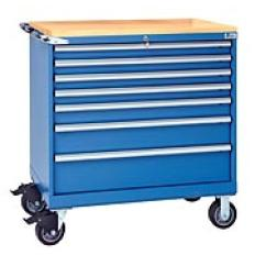 HS750 7-Drawer Mobile Toolbox with Top