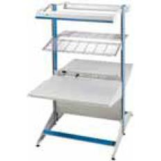 72x72x30 2-Sided Starter,Laminate Top